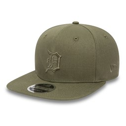 Detroit Tigers Canvas Original Fit 9FIFTY Khaki Green Snapback