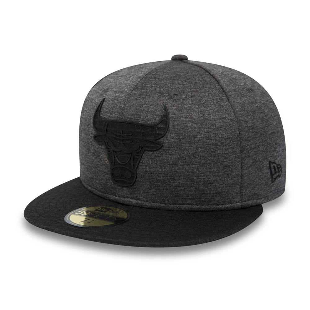 Chicago Bulls Concrete Jersey Graphite 59FIFTY
