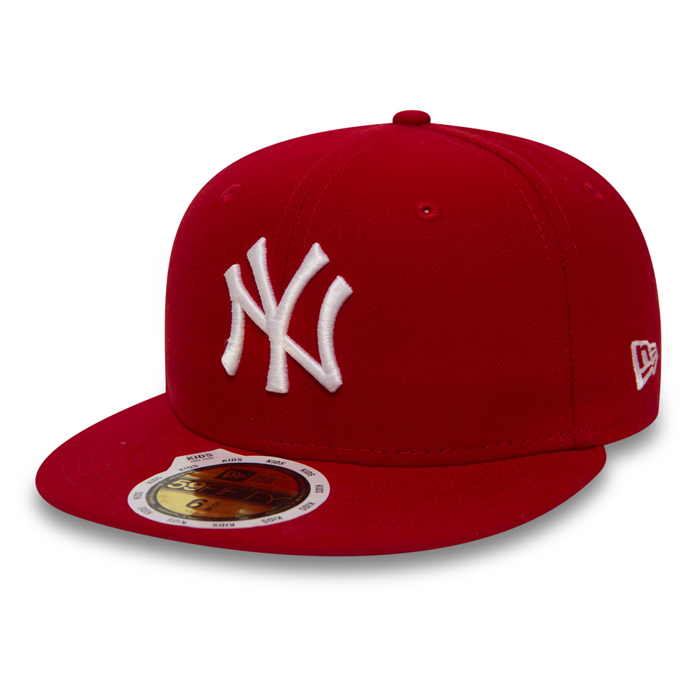 NY Yankees Essential 59FIFTY niño, rojo