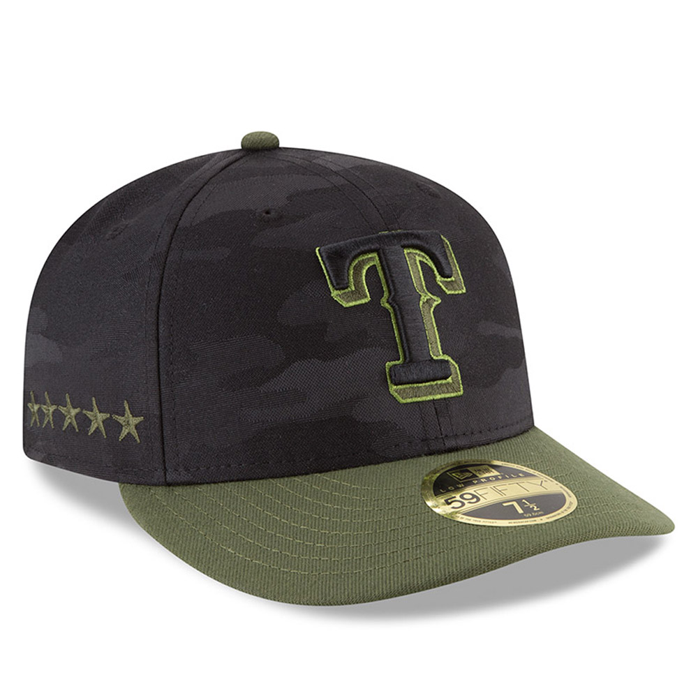 49fc9c8f4a5fa ... Texas Rangers 2018 Memorial Day Low Profile 59FIFTY