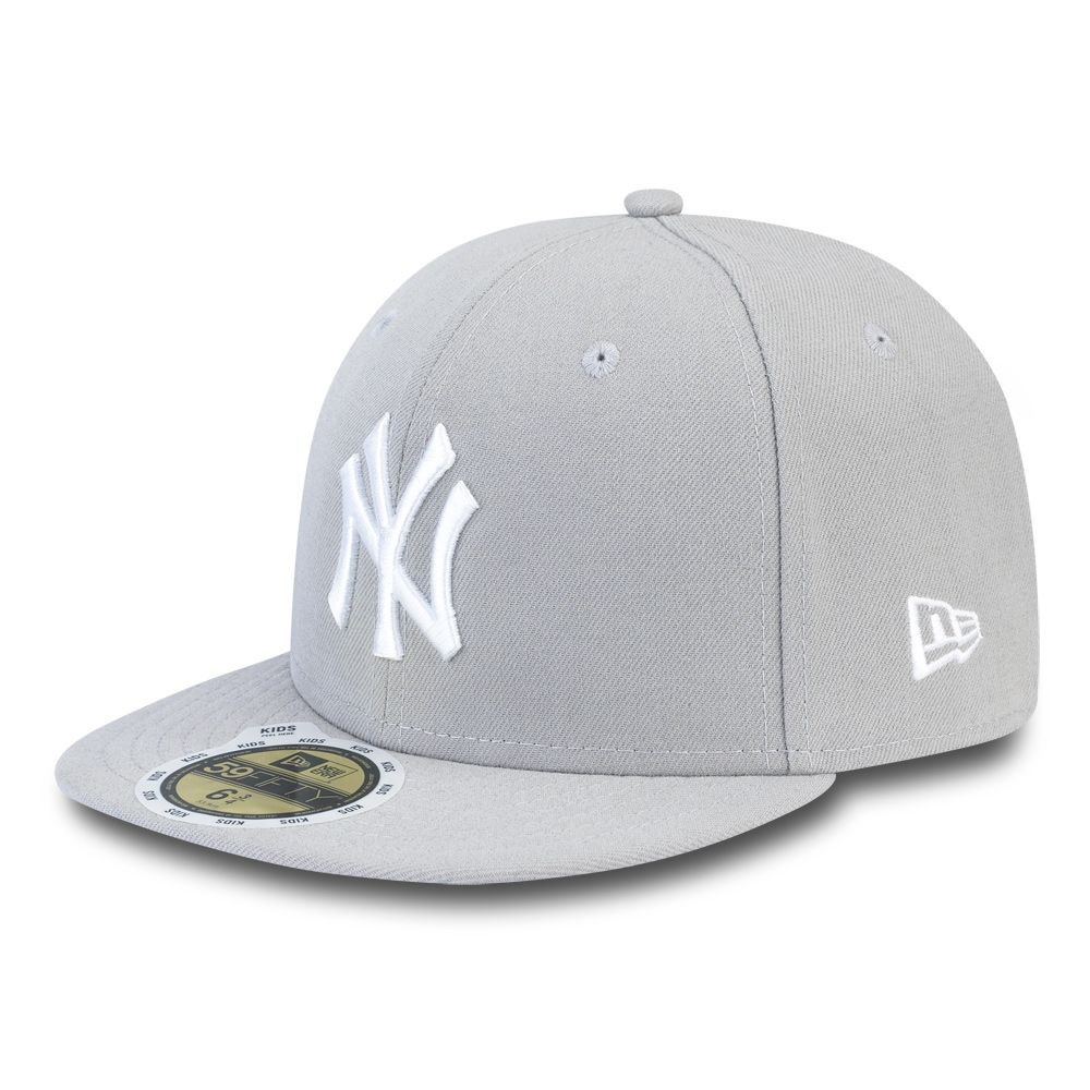 NY Yankees Essential Grey 59FIFTY bambino NY Yankees Essential Grey 59FIFTY  bambino 5831b48ae52f