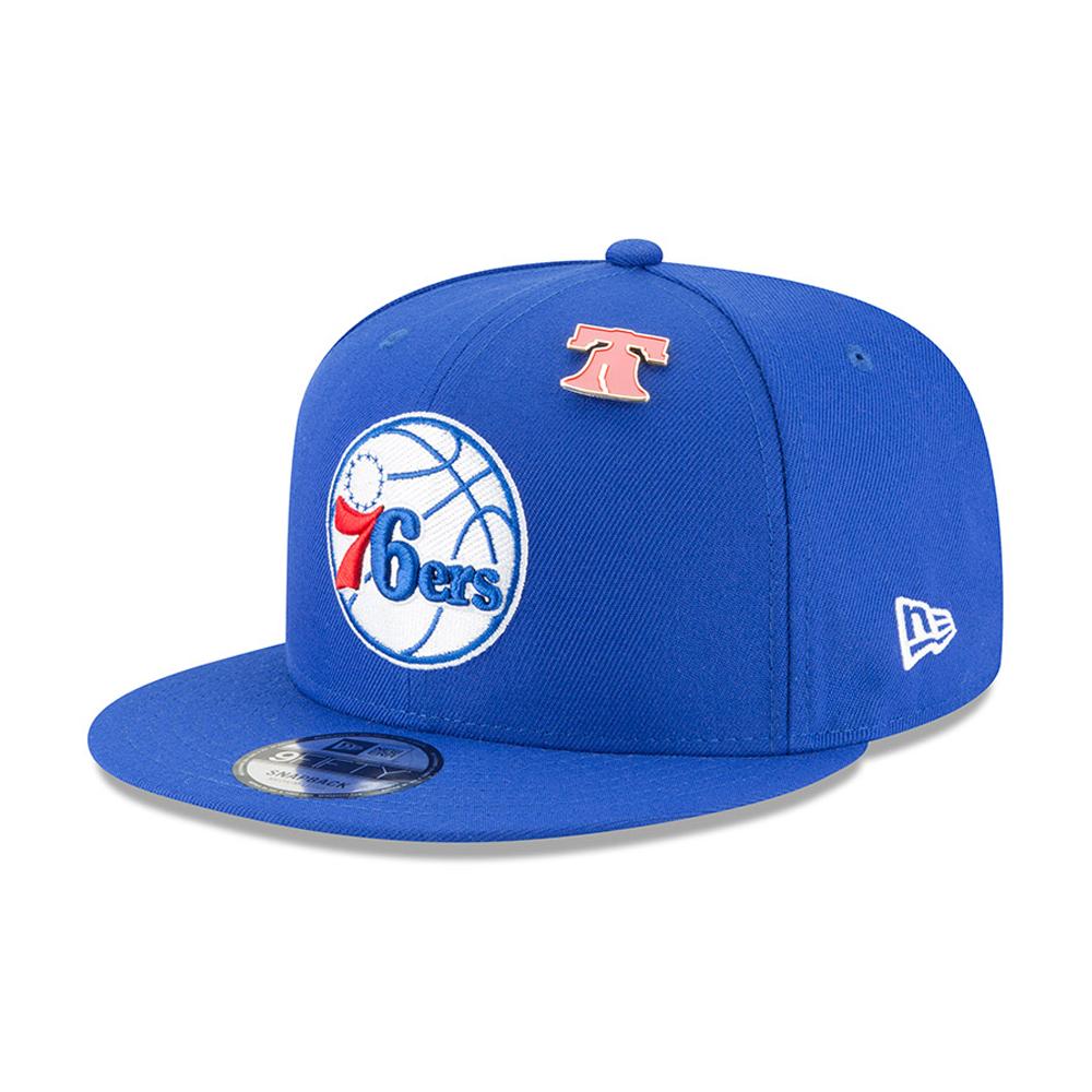 Philadelphia 76ers NBA Draft 2018 9FIFTY Snapback
