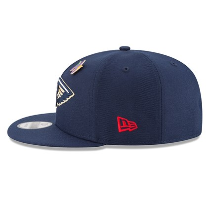 buy online 6d137 0bb3d ... New Orleans Pelicans 2018 NBA Draft 9FIFTY Snapback