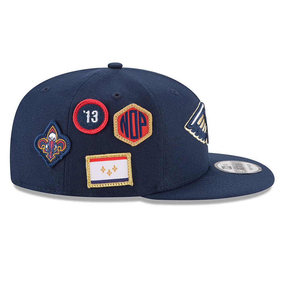 huge selection of b7832 ab1fa ... mitchell and ness nba bard up snapback cap 8ca27 704b9  wholesale new  orleans pelicans 2018 nba draft 9fifty snapback bfc92 b4d1d