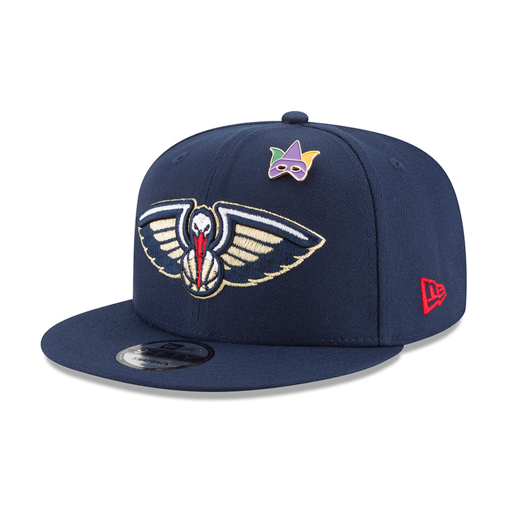 low priced 655e7 f8380 New Orleans Pelicans 2018 NBA Draft 9FIFTY Snapback   New Era