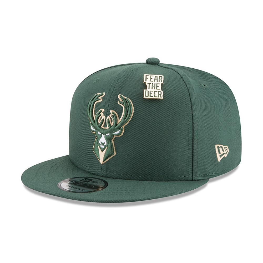 Milwaukee Bucks NBA Draft 2018 9FIFTY Snapback