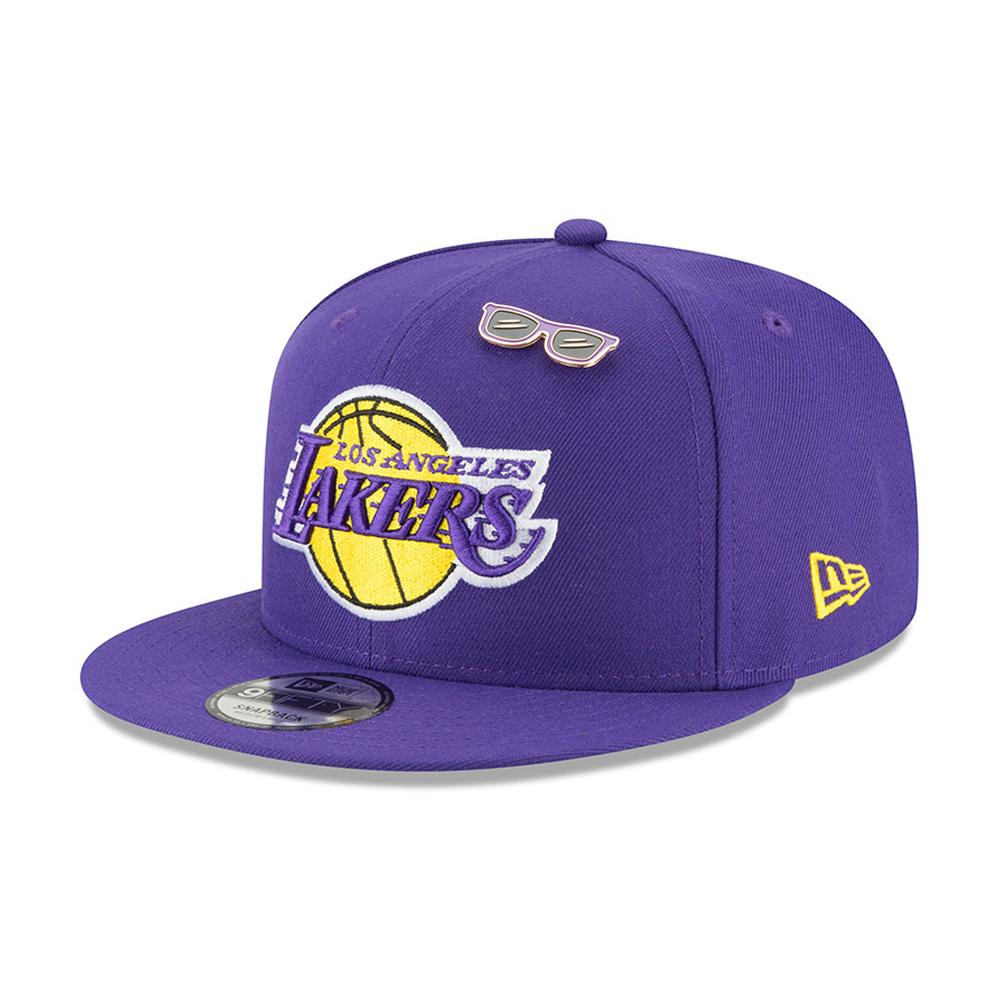 pretty nice 7d8ed c182f Los Angeles Lakers 2018 NBA Draft 9FIFTY Snapback   New Era