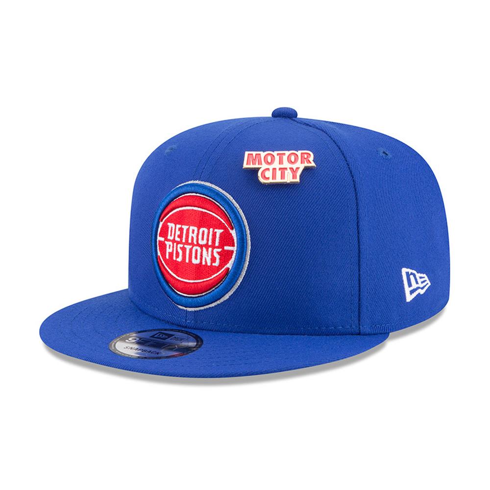 Detroit Pistons NBA Draft 2018 9FIFTY Snapback