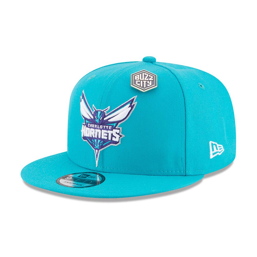 Charlotte Hornets NBA Draft 2018 9FIFTY Snapback