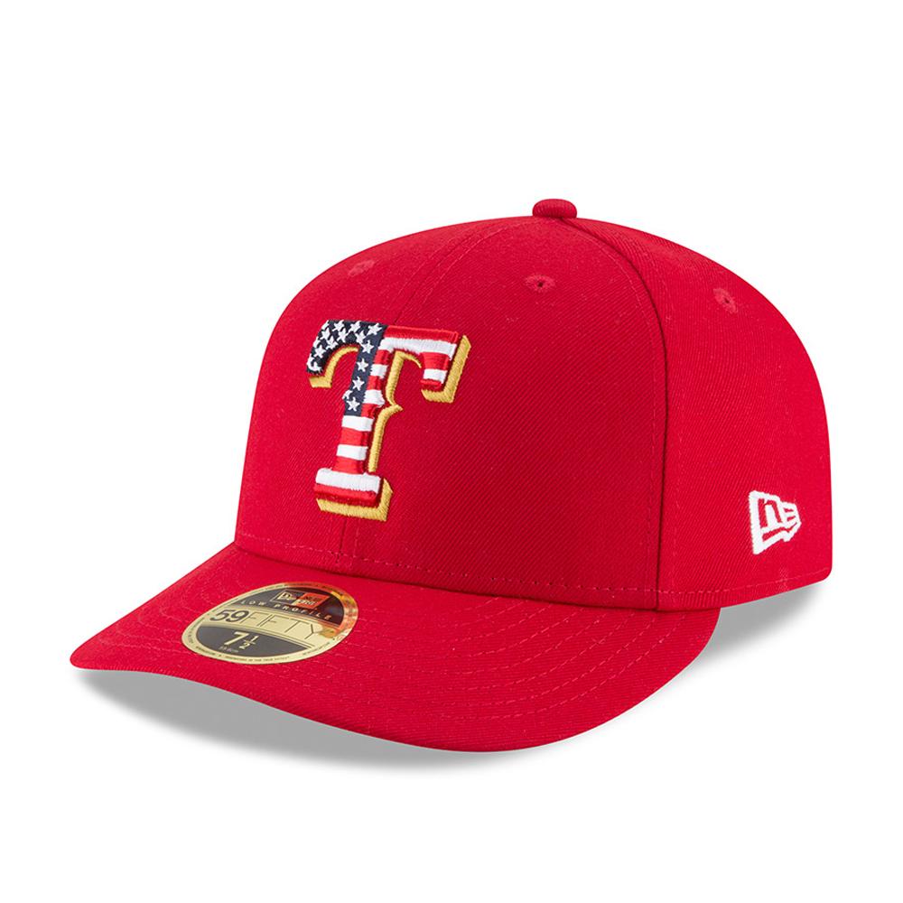 7f9fa21e5b631 Texas Rangers 4th of July 2018 Low Profile 59FIFTY