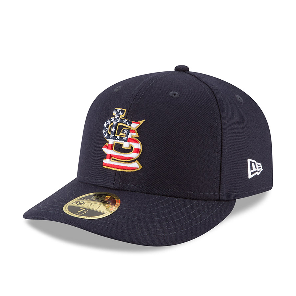 St. Louis Cardinals 4th of July 2018 Low Profile 59FIFTY