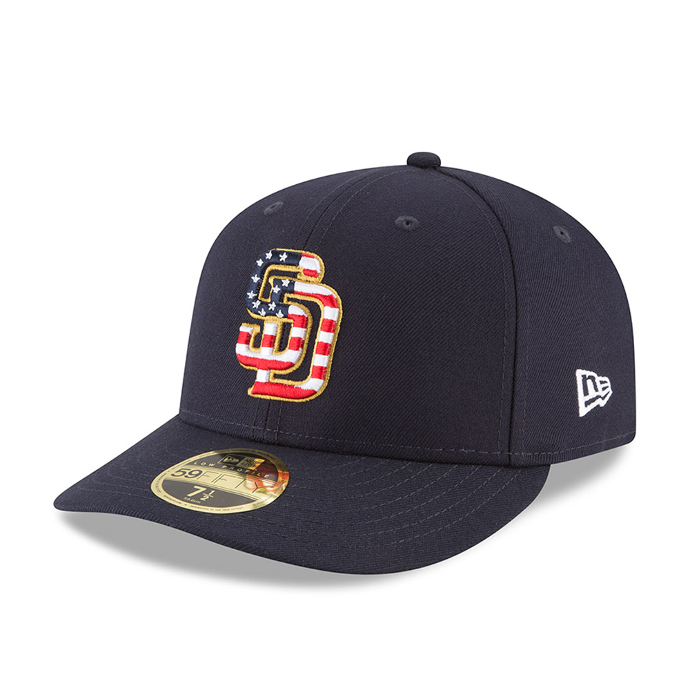 San Diego Padres 4th of July 2018 Low Profile 59FIFTY