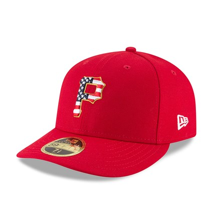 premium selection eacf4 f5093 Pittsburgh Pirates 4th of July 2018 Low Profile 59FIFTY   New Era
