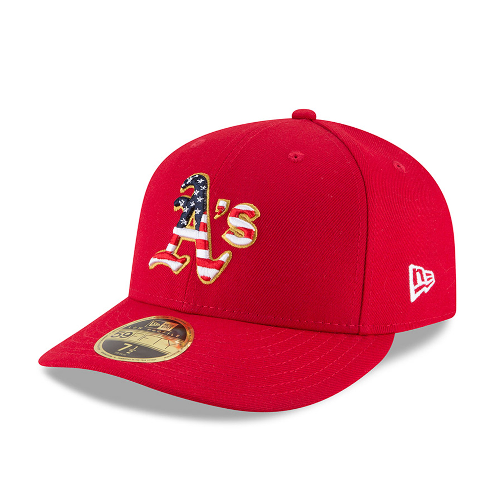 Oakland Athletics 4th of July 2018 Low Profile 59FIFTY