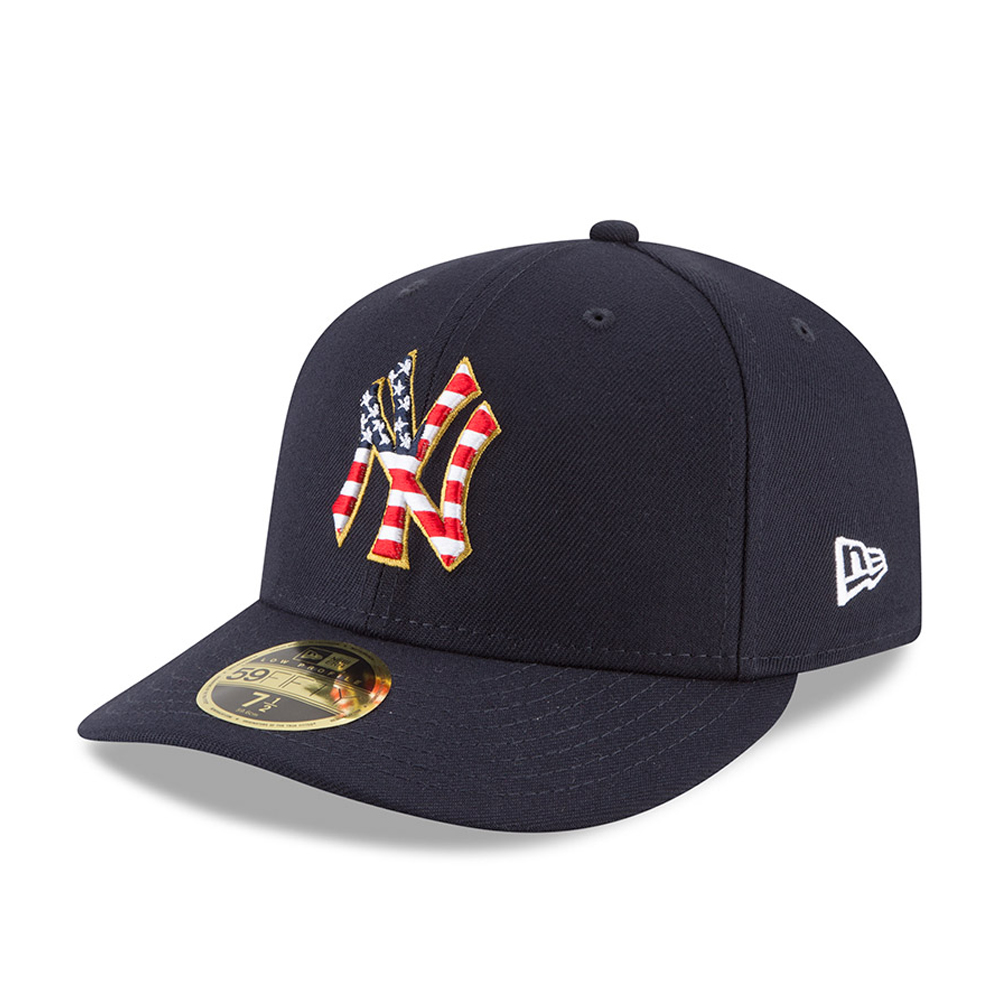 8f11228f369d6 New York Yankees 4th of July 2018 Low Profile 59FIFTY