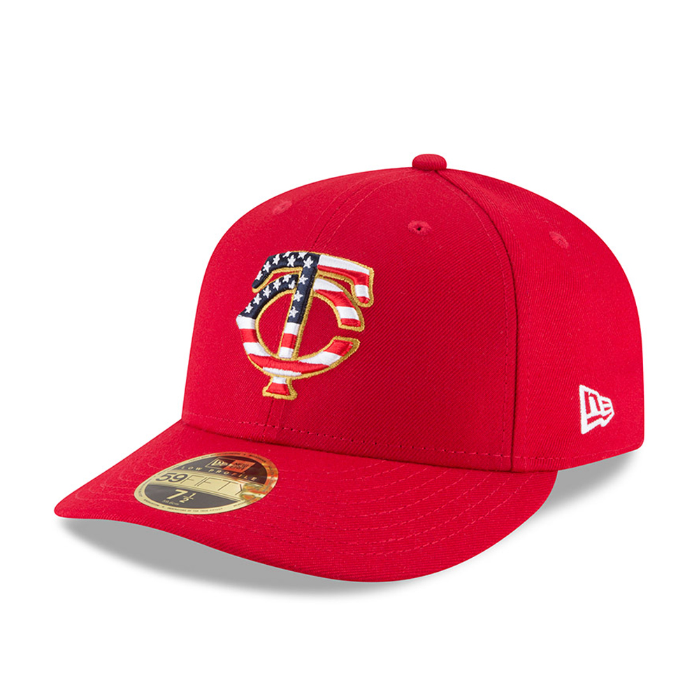 Minnesota Twins 4th of July 2018 Low Profile 59FIFTY
