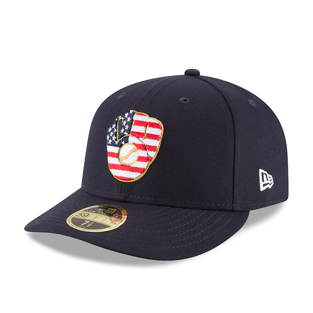 Milwaukee Brewers 4th of July 2018 Low Profile 59FIFTY