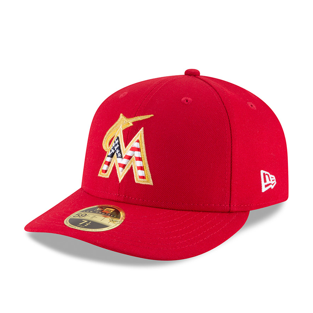 Miami Marlins 4th of July 2018 Low Profile 59FIFTY