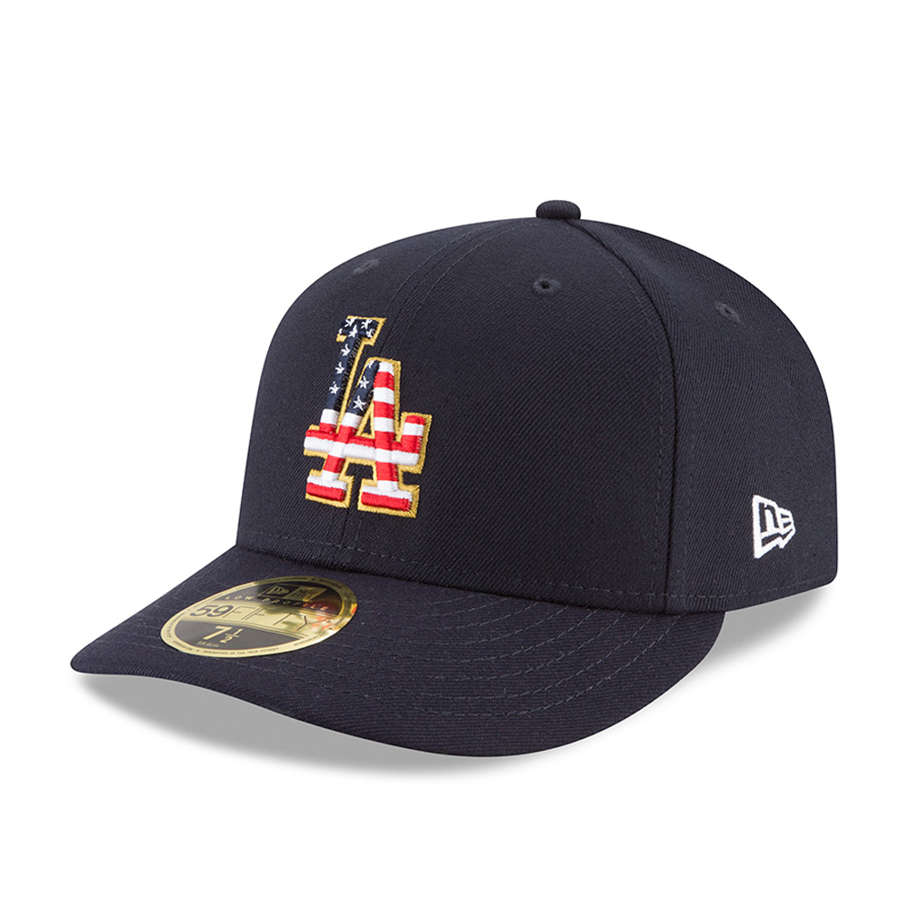 size 40 ea060 52f0a Los Angeles Dodgers 4th of July 2018 Low Profile 59FIFTY   New Era