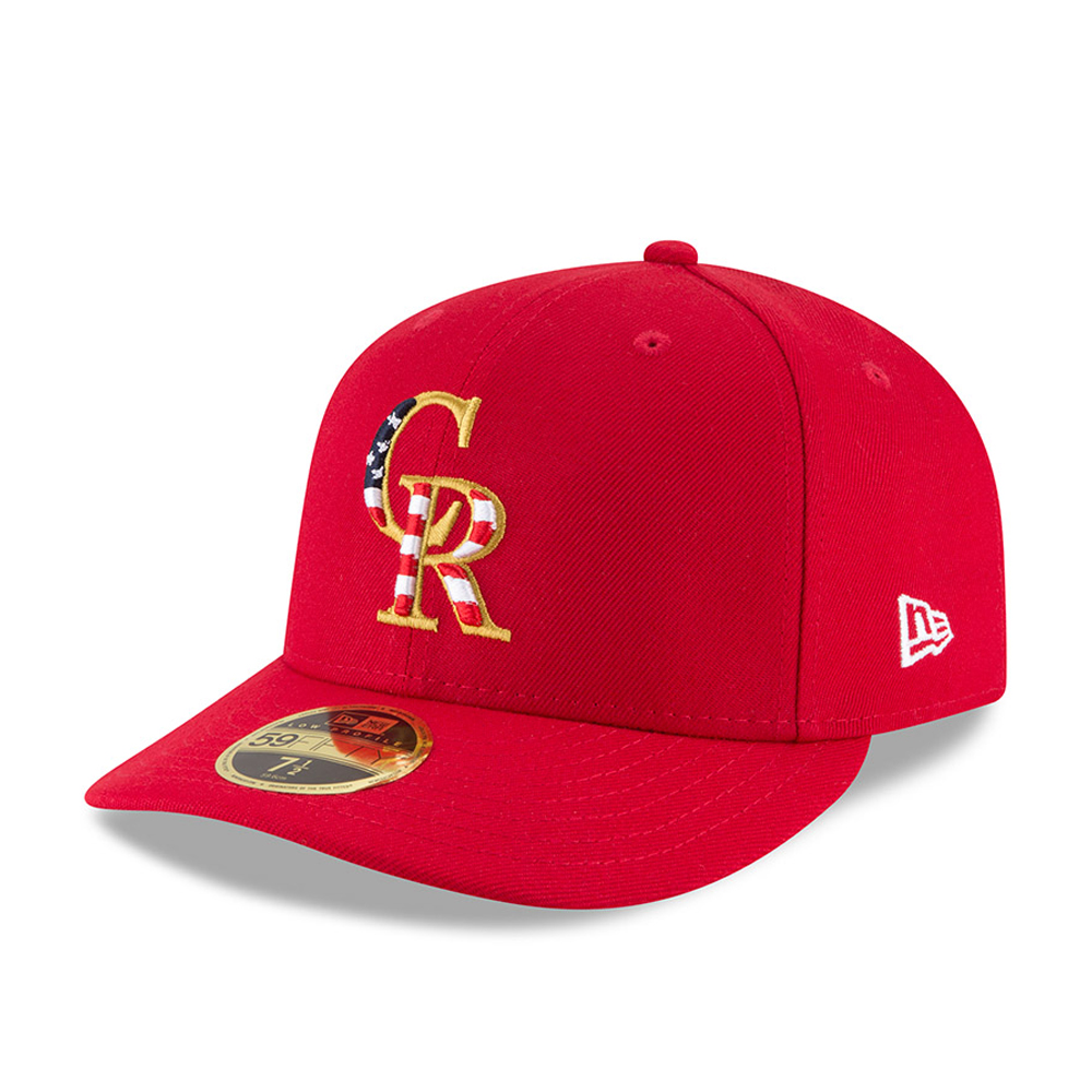 Colorado Rockies 4th of July 2018 Low Profile 59FIFTY