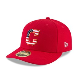 Cleveland Indians 4th of July 2018 Low Profile 59FIFTY d127aac2fb2