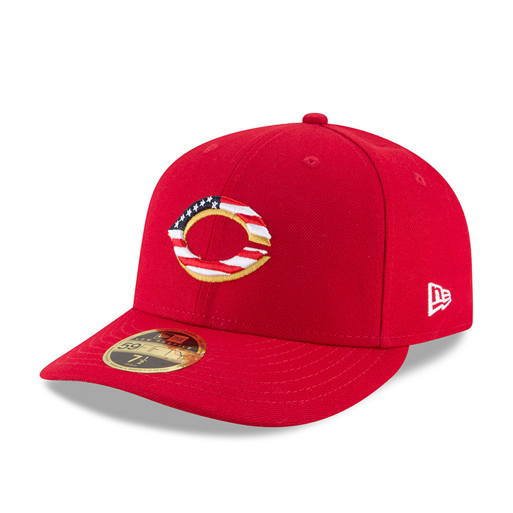 Cincinnati Reds 4th of July 2018 Low Profile 59FIFTY