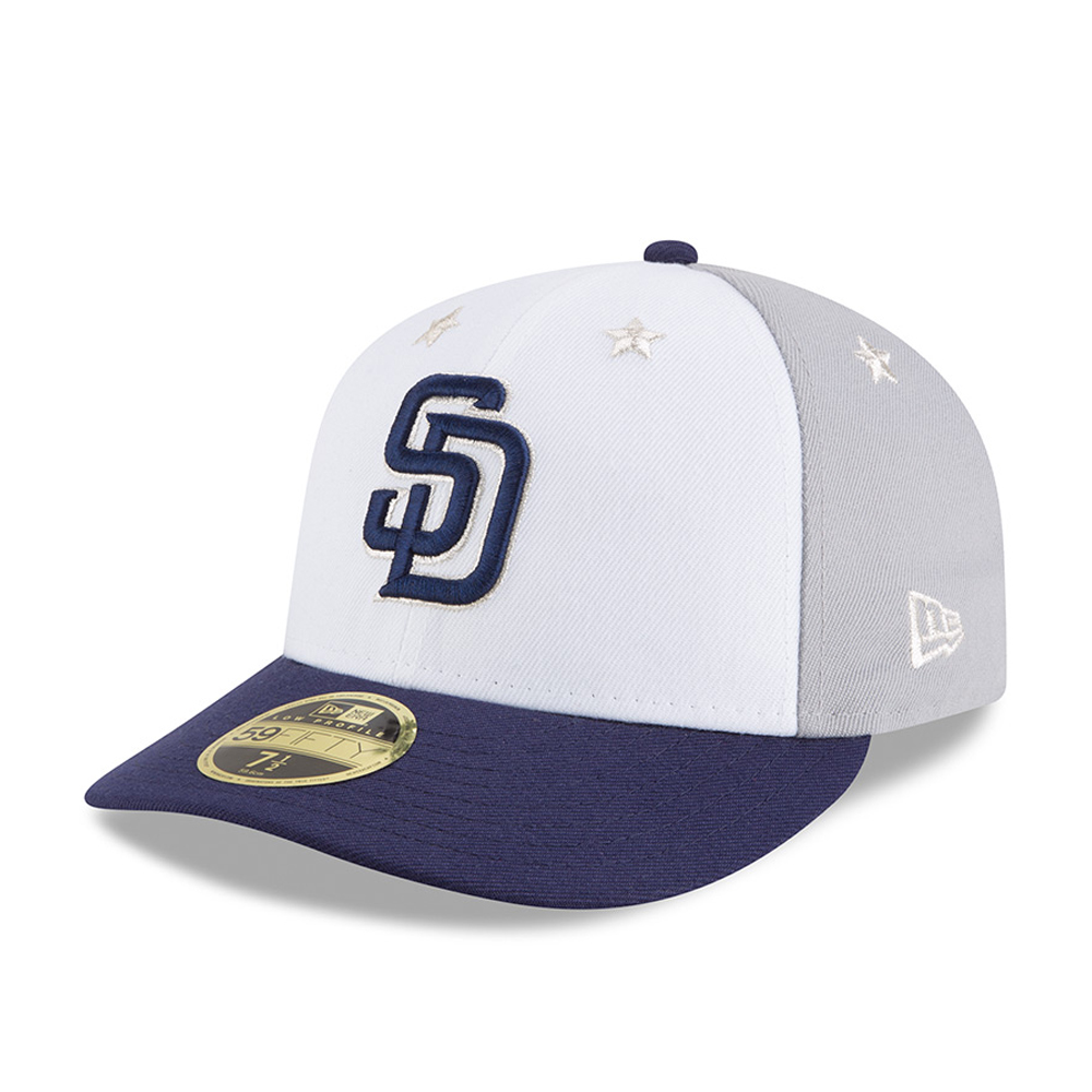 San Diego Padres 2018 All Star Game Low Profile 59FIFTY d23de980e42