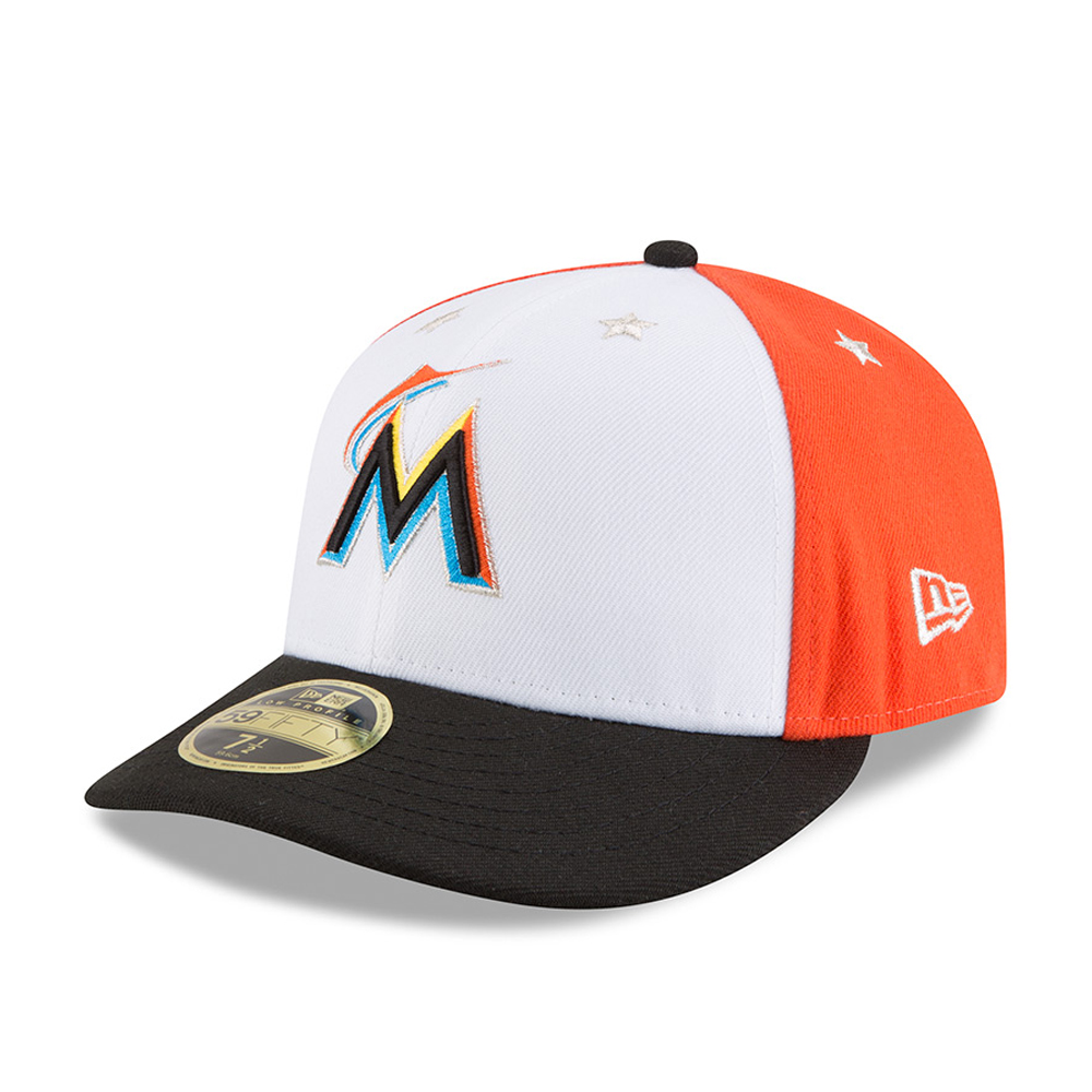 wholesale dealer d12c6 51296 ... new era fitted hat cap 7 1 52799 2d32c  ebay miami marlins 2018 all  star game low profile 59fifty 3c9f3 2cde3