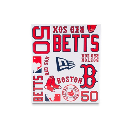 promo code 3b213 57eeb Boston Red Sox Mookie Betts Authentic Jersey 9FIFTY Snapback ...