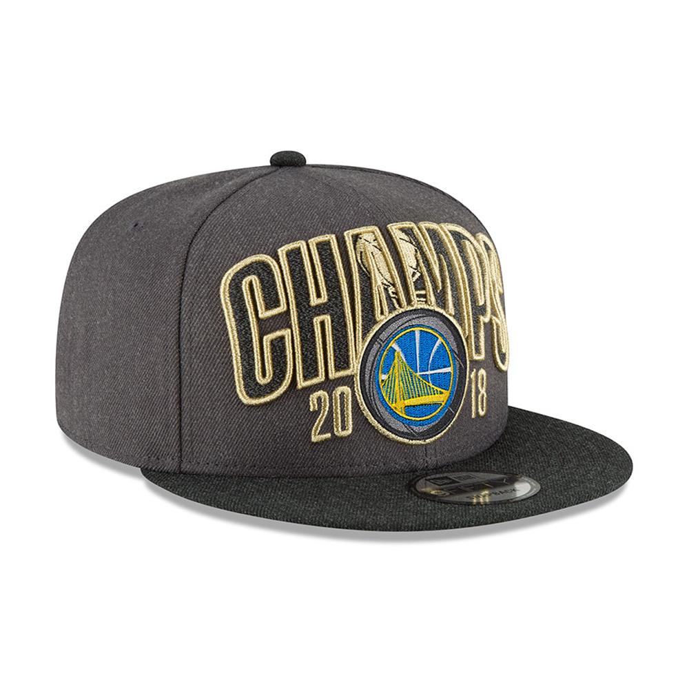 d22f5558b4b51 Golden State Warriors 2018 NBA Champions 9FIFTY Snapback