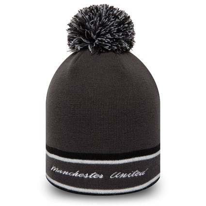 Manchester United Grey Bobble Knit