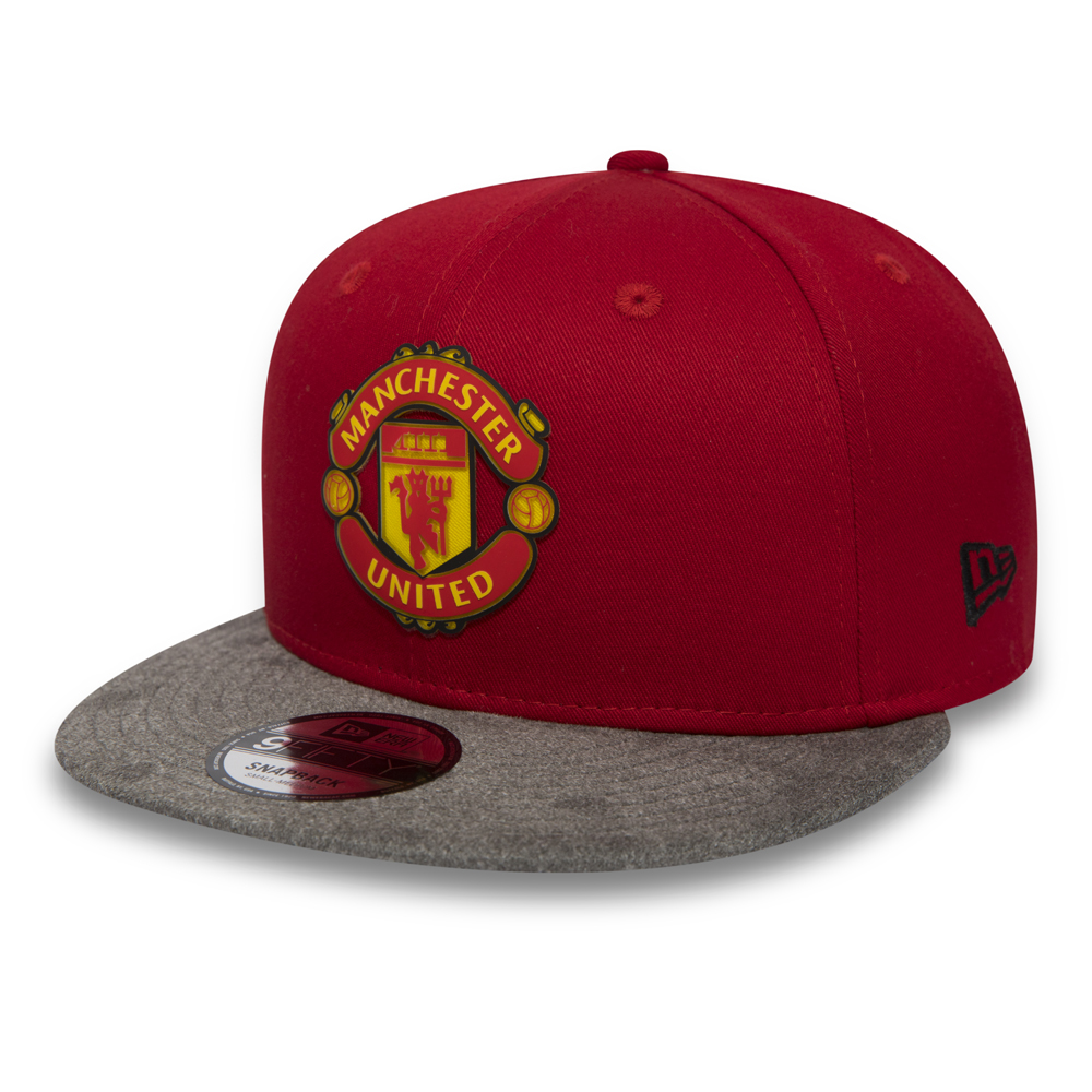 Manchester United Suede Vize 9FIFTY Snapback