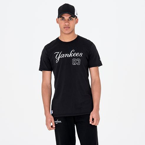 Camiseta New York Yankees Team, negro