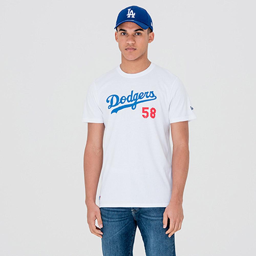 Camiseta Los Angeles Dodgers Team, blanco