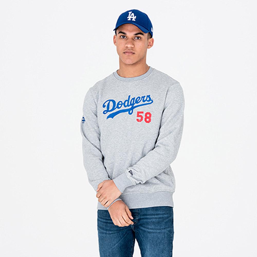 Cuello redondo Los Angeles Dodgers Team, gris