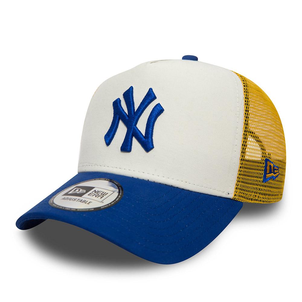 c87d0abb088 New York Yankees Nylon A Frame Trucker