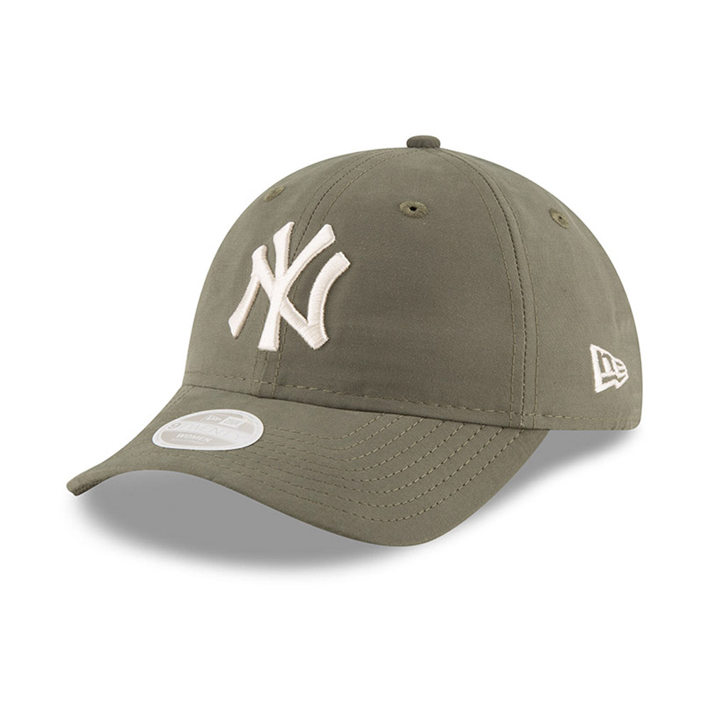 New York Yankees Packable 9TWENTY vert olive pour femme