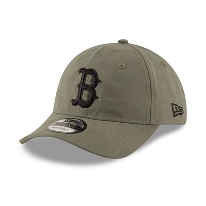 c92be62d Boston Red Sox Packable Olive Green 9TWENTY | New Era