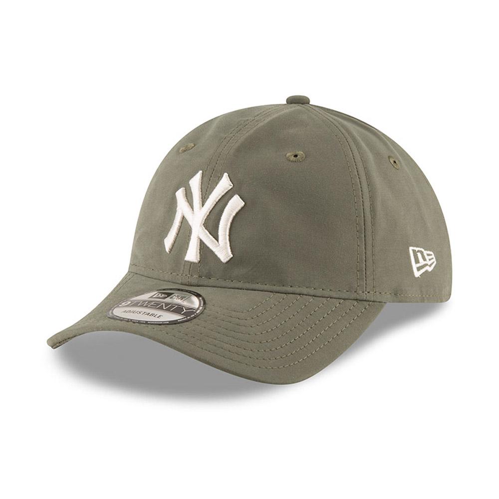 reputable site 56d51 0eddc New York Yankees Packable Olive Green 9TWENTY