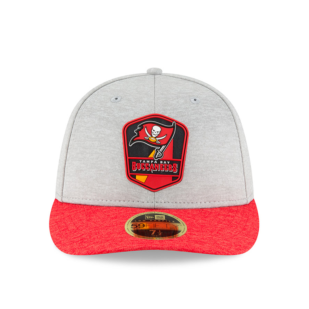 online store 91453 67606 Tampa Bay Buccaneers 2018 Sideline Away Low Profile 59FIFTY
