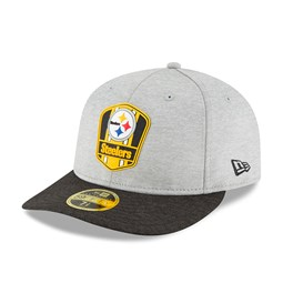 newest 16d88 2c8bd Pittsburgh Steelers 2018 Sideline Away Low Profile 59FIFTY
