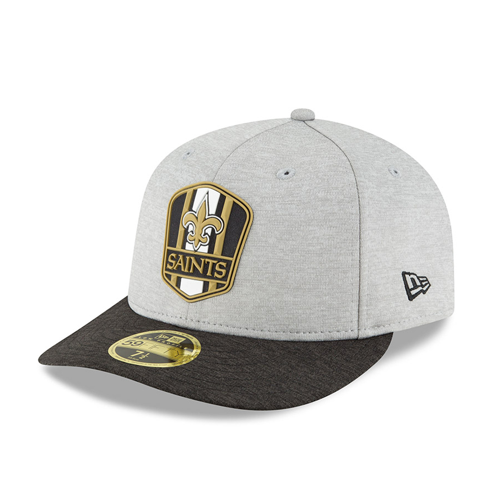 New Orleans Saints 2018 Sideline Away Low Profile 59FIFTY