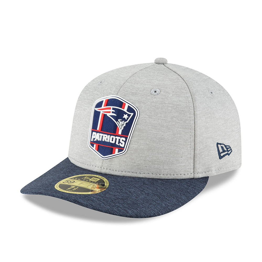 New England Patriots 2018 Sideline Away Low Profile 59FIFTY 548525c71fe