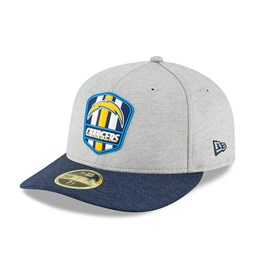 Los Angeles Chargers 2018 Sideline Away Low Profile 59FIFTY