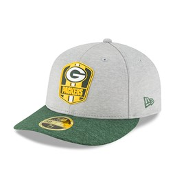 7cd4bf6f0 Green Bay Packers 2018 Sideline Away Low Profile 59FIFTY