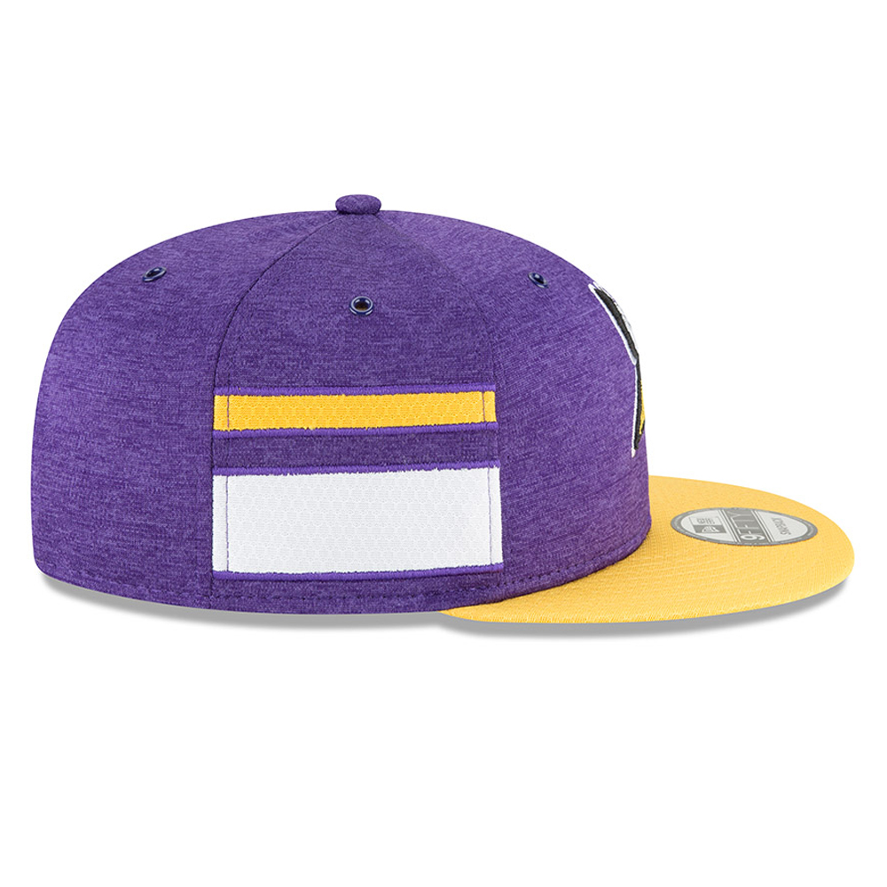 Minnesota Vikings 2018 Sideline Home 9FIFTY Snapback  8310cd4a2201