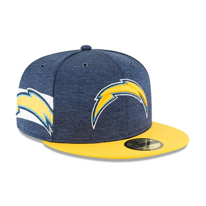 Los Angeles Chargers 2018 Sideline 59FIFTY