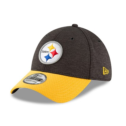 best website 92cf9 dc1e6 Pittsburgh Steelers 2018 Sideline Home 39THIRTY   New Era