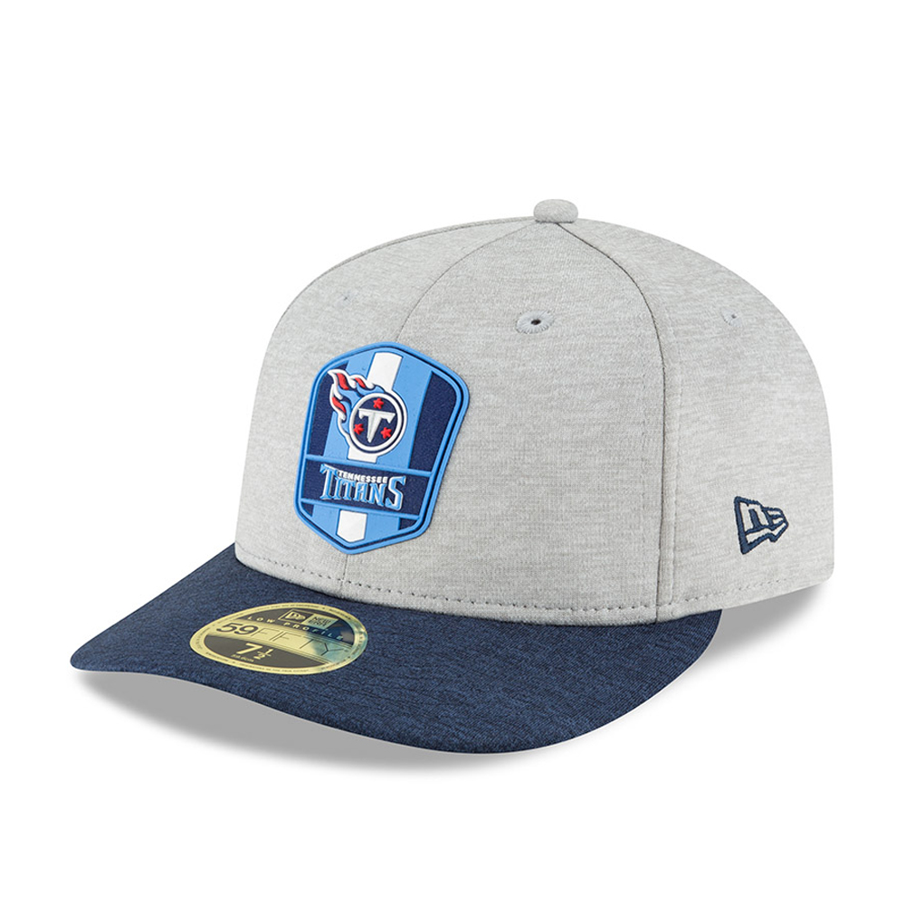 timeless design 71756 266d2 Tennessee Titans 2018 Sideline Away Low Profile 59FIFTY
