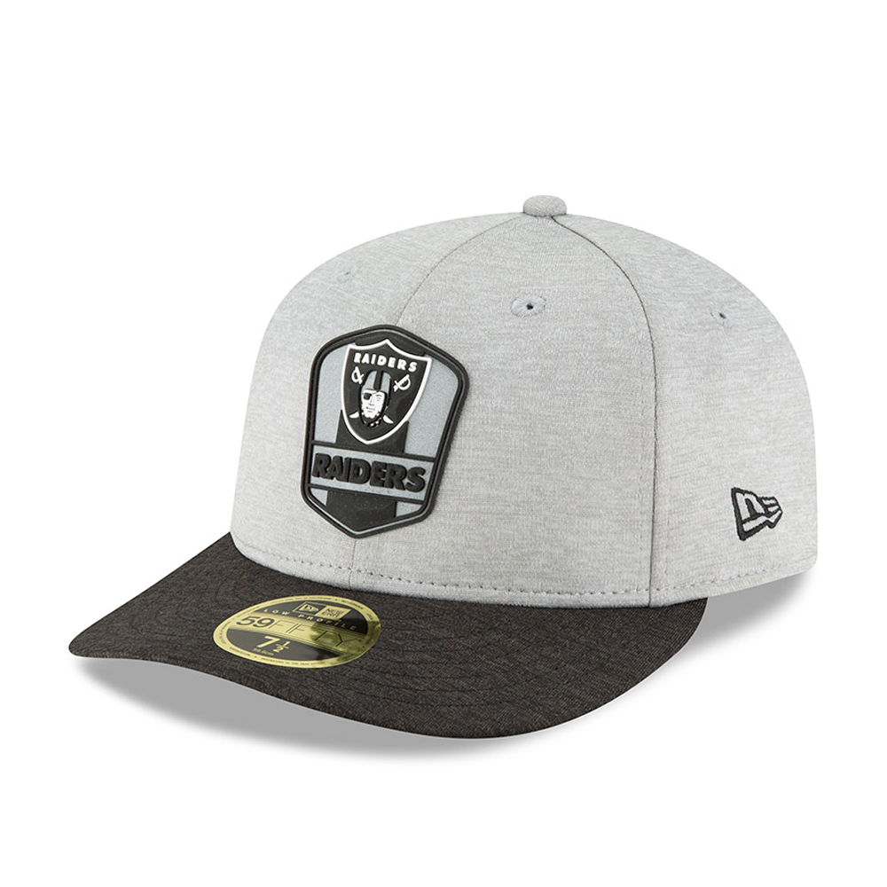 Oakland Raiders 2018 Sideline Away Low Profile 59FIFTY